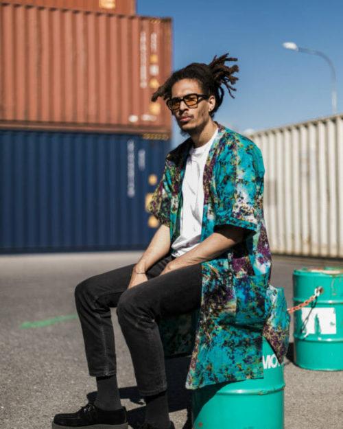 Kimono Tie&dye / Turquoise